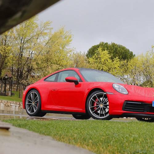 Prueba del Porsche 911 Carrera 4S Coupé, Sprinter