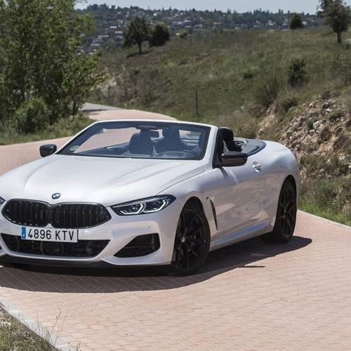 Prueba BMW M850i xDrive Cabrio: placer a la americana