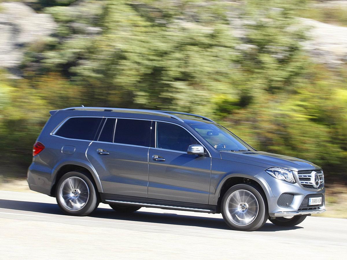 Prueba Mercedes-Benz GLS