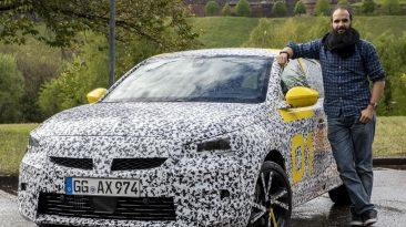 Prueba Opel Corsa 2020 fase desarrollo