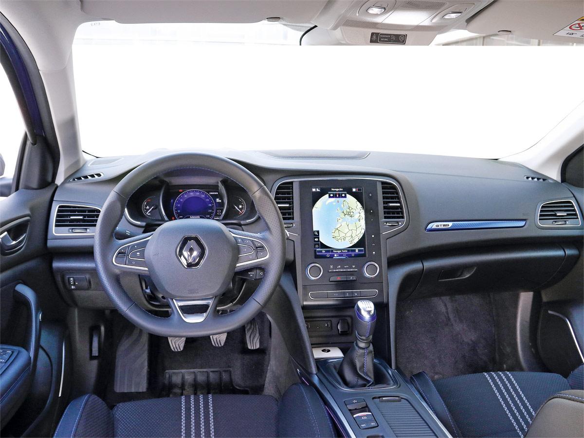 Prueba Renault Megane GT Line 2019