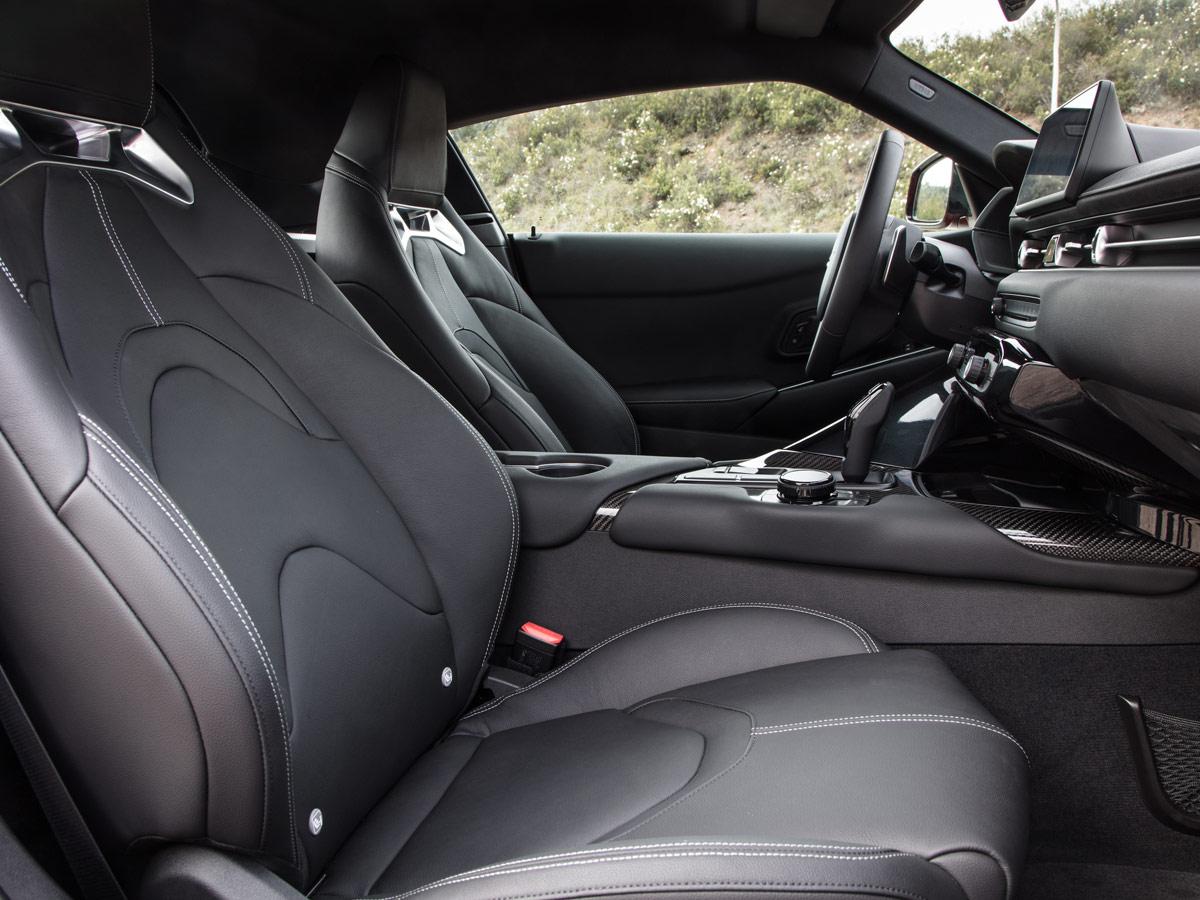 Prueba Toyota Supra 2019