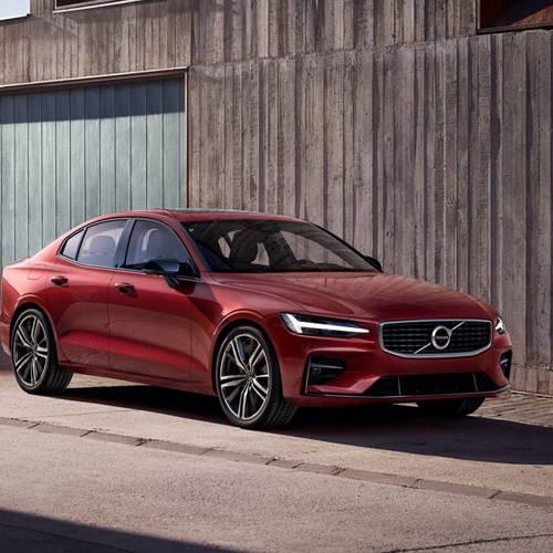 Al volante del nuevo Volvo S60, el sueco americano