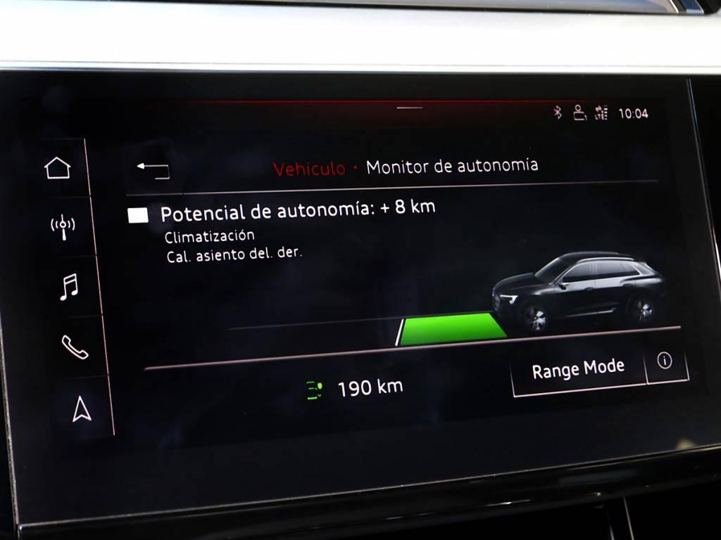 Range Mode Audi e-tron