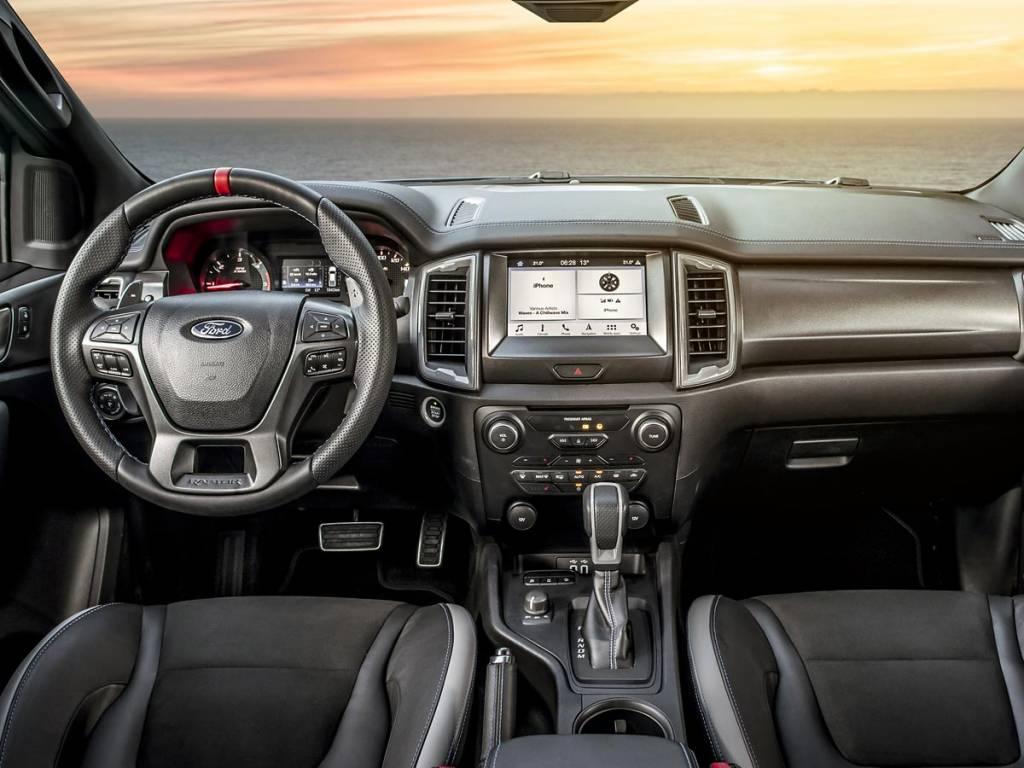 interior ford ranger raptor
