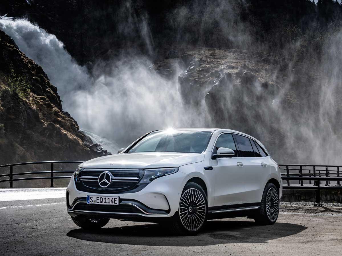 Prueba Mercedes-Benz EQC