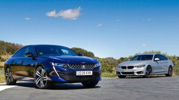 comparativa-bmw-420d-gran-coupe-peugeot-508-bhdi-180
