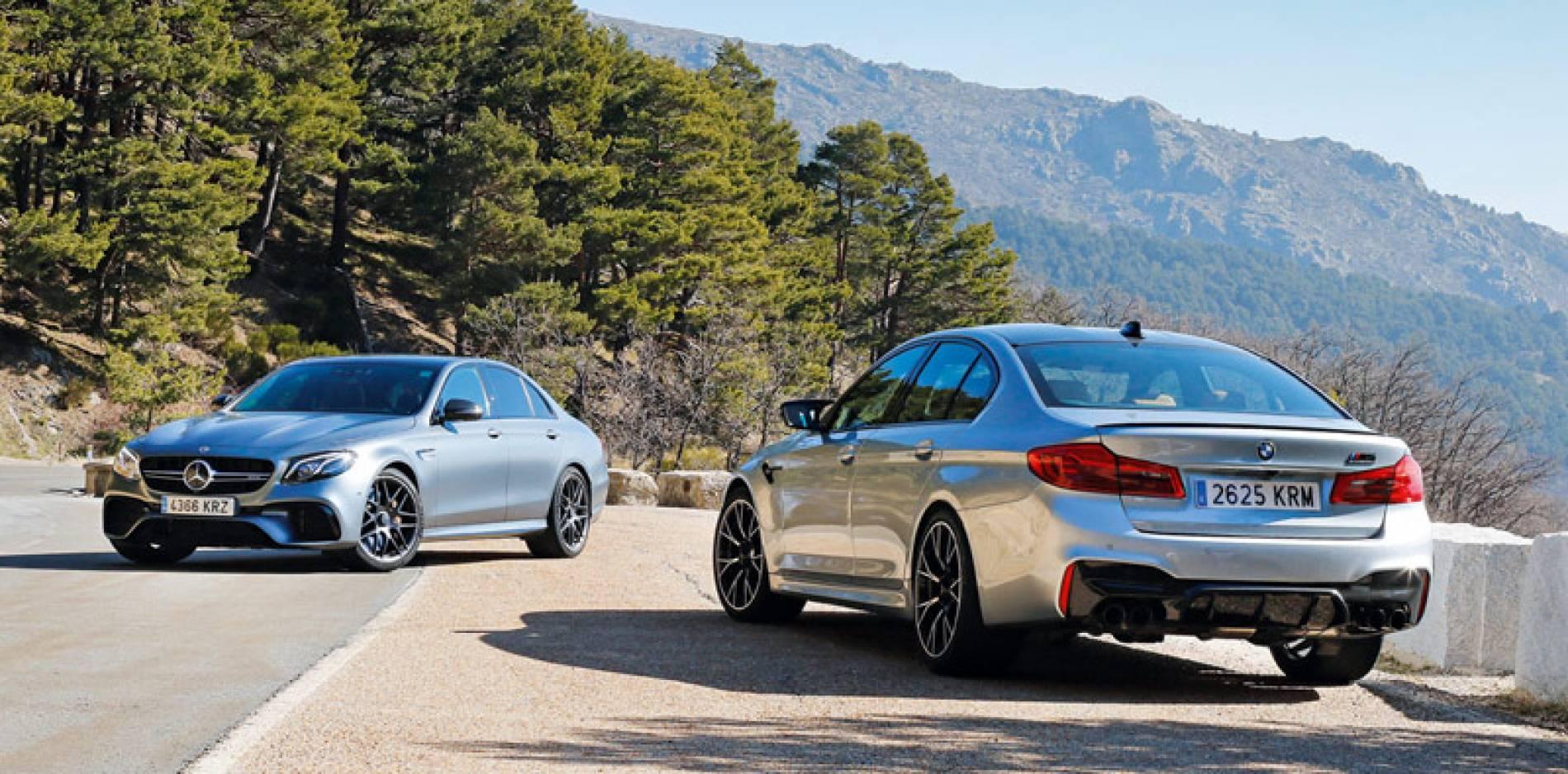 Comparativa de berlinas extremas: BMW M5 Competition vs Mercedes-AMG E 63 S 4MATIC+
