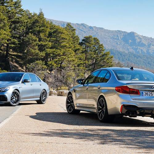 Comparativa de berlinas extremas: BMW M5 Competition vs Mercedes-AMG E 63 S 4MATIC+