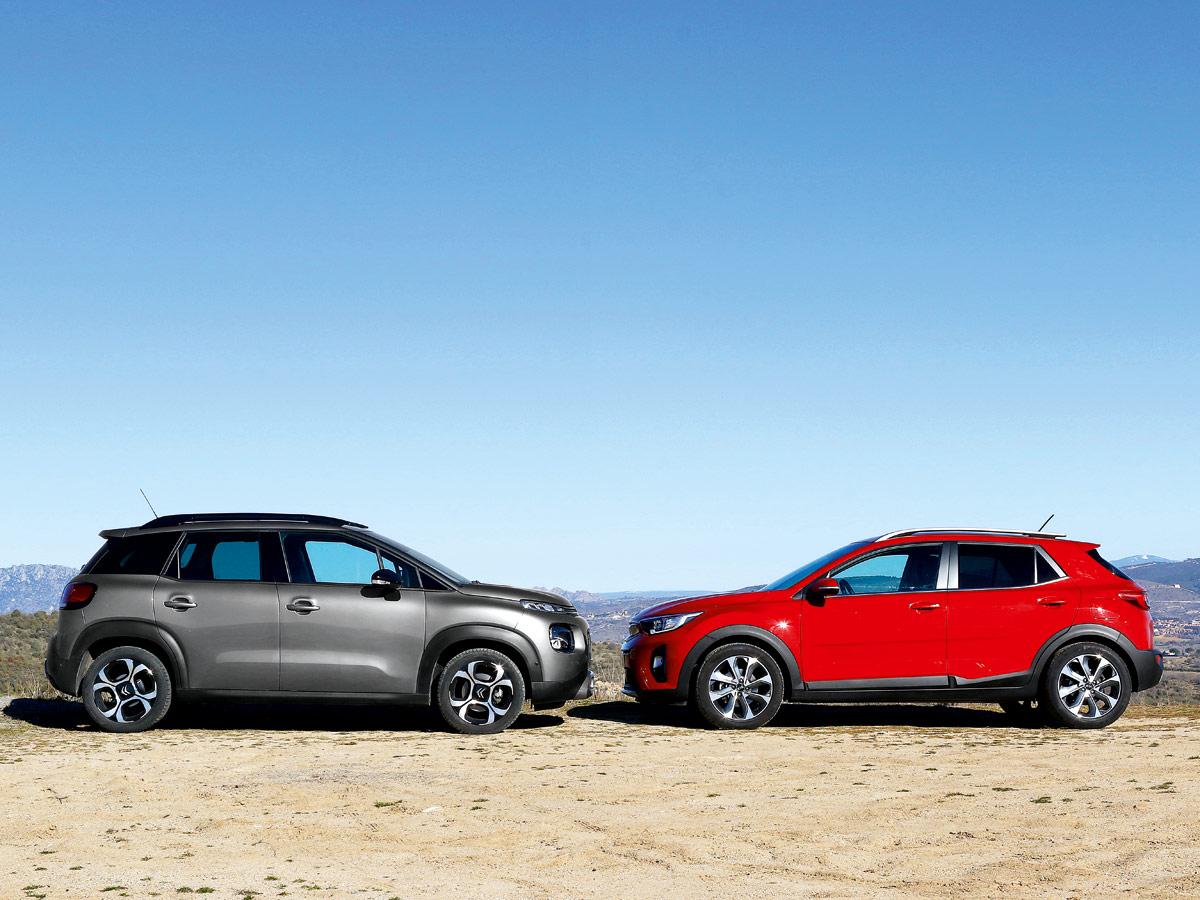 Comparativa Citroën C3 Aircross vs Kia Stonic