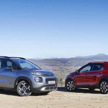Comparativa de SUV urbanos: Citroën C3 Aircross vs Kia Stonic, ¿con cuál te quedas?