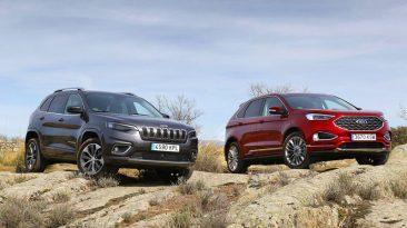 Comparativa Ford Edge vs Jeep Cherokee