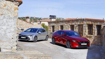 Comparativa Mazda3 vs Toyota Corolla