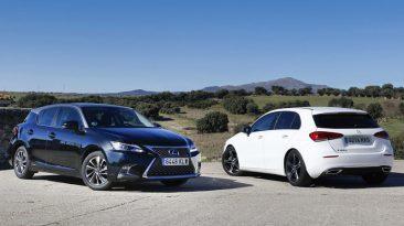 Comparativa Mercedes-Benz Clase A vs Lexus CT200