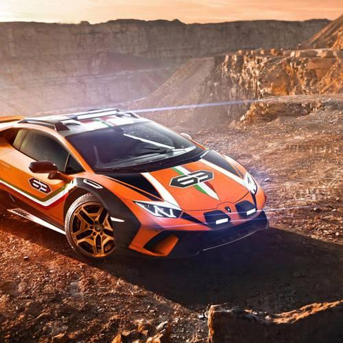 Lamborghini Huracán Sterrato Concept, la última extravagancia llega desde Italia