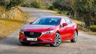 Prueba Mazda6 2.0 SkyActiv-G Zenith 2019