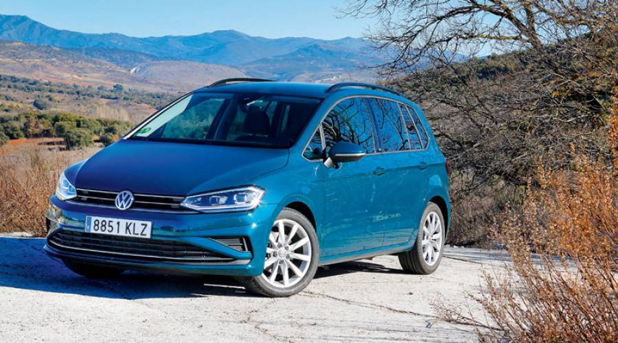 Prueba del Volkswagen Golf Sportsvan, economía familiar
