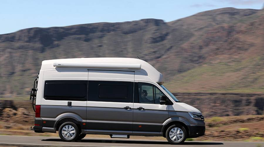 Volkswagen Grand California, una casa rodante
