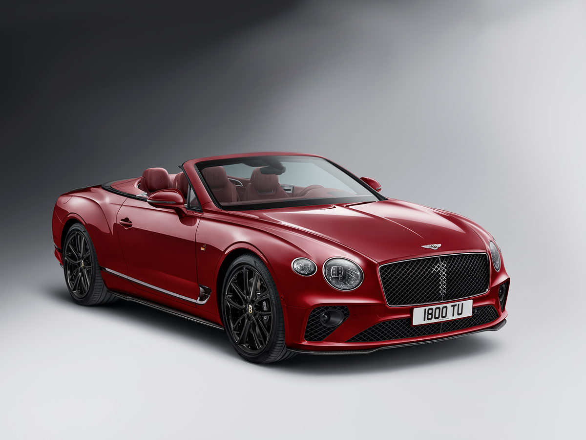 Bentley Continental GT Numbrer 1 Edition by Mulliner