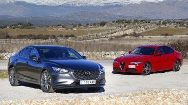 Comparativa Alfa Romeo Giulia vs Mazda6Alfa Romeo Giulia vs Mazda6