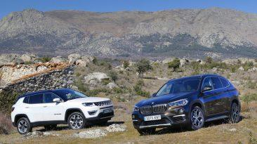 Comparativa Jeep Compass vs BMW X1 2019