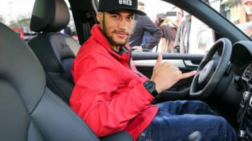 Neymar Jr conducción