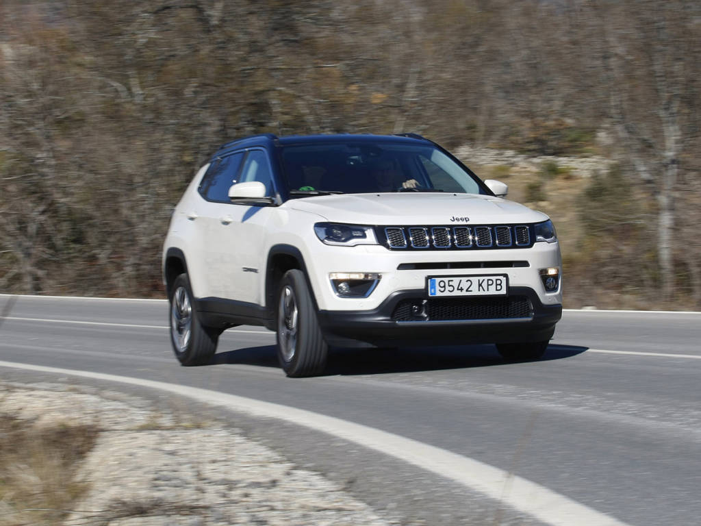 Prueba Jeep Compass Limited 2019