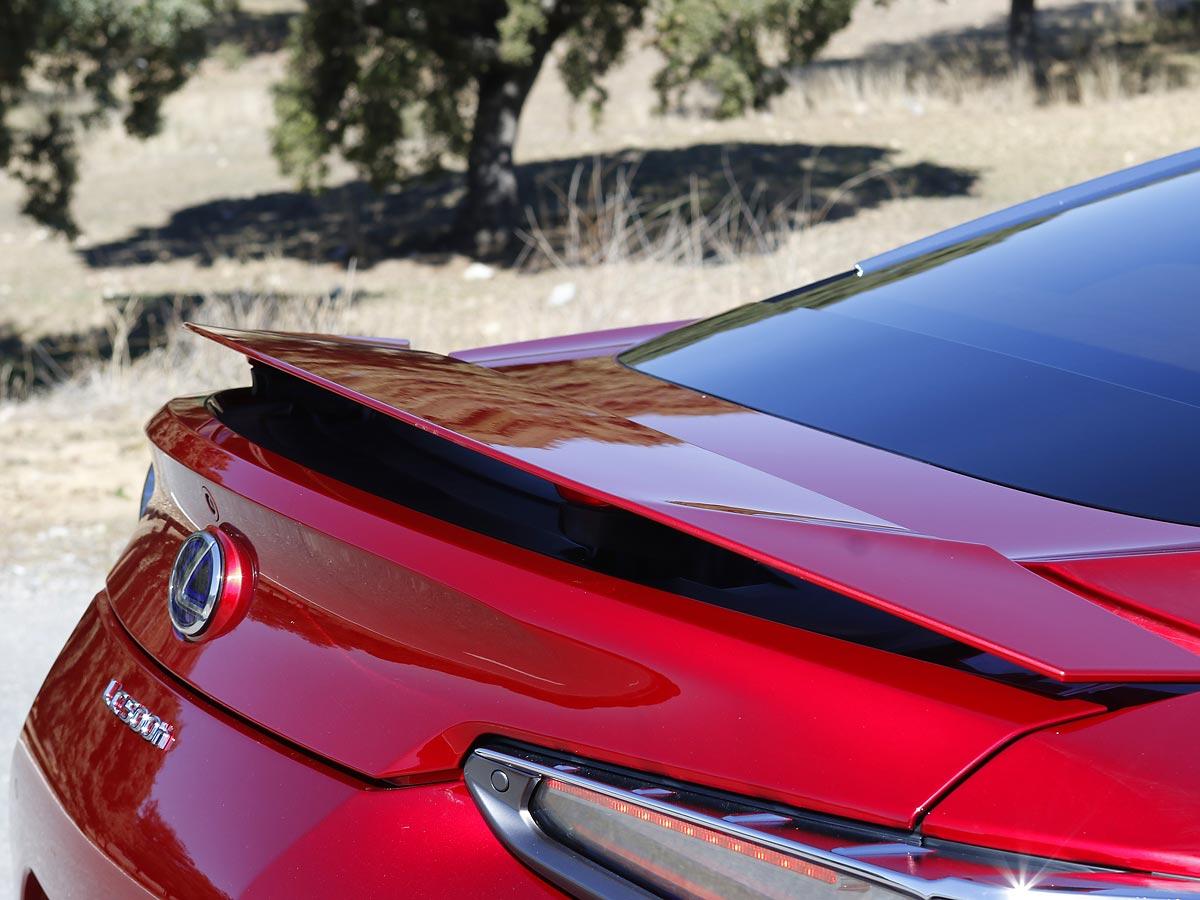 alerón Lexus LC 500h