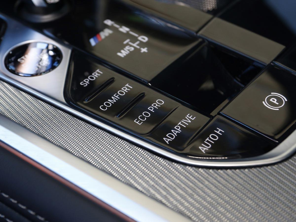 modos de conducción BMW M850i xDrive Coupé