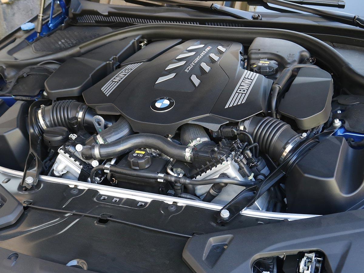 motor BMW M850i xDrive Coupé
