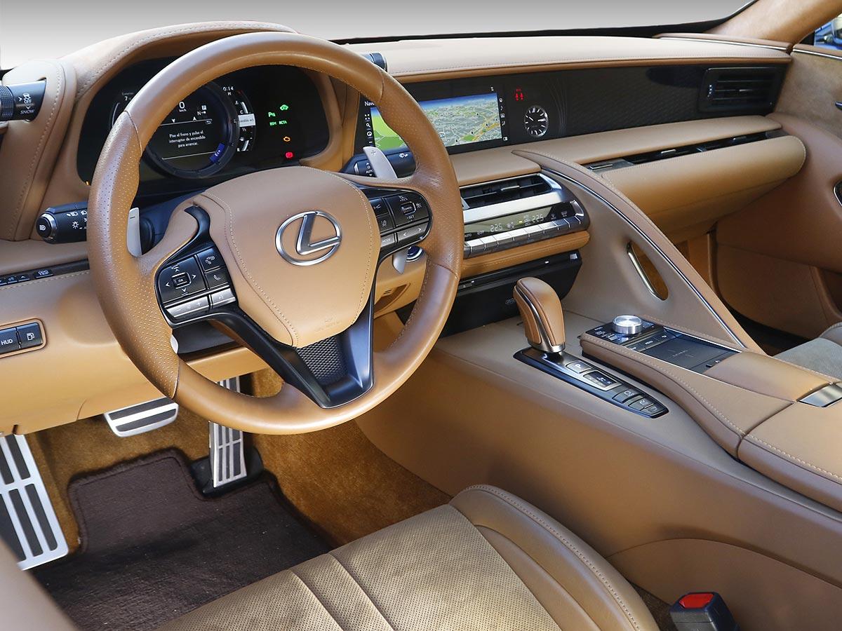 interior Lexus LC 500h