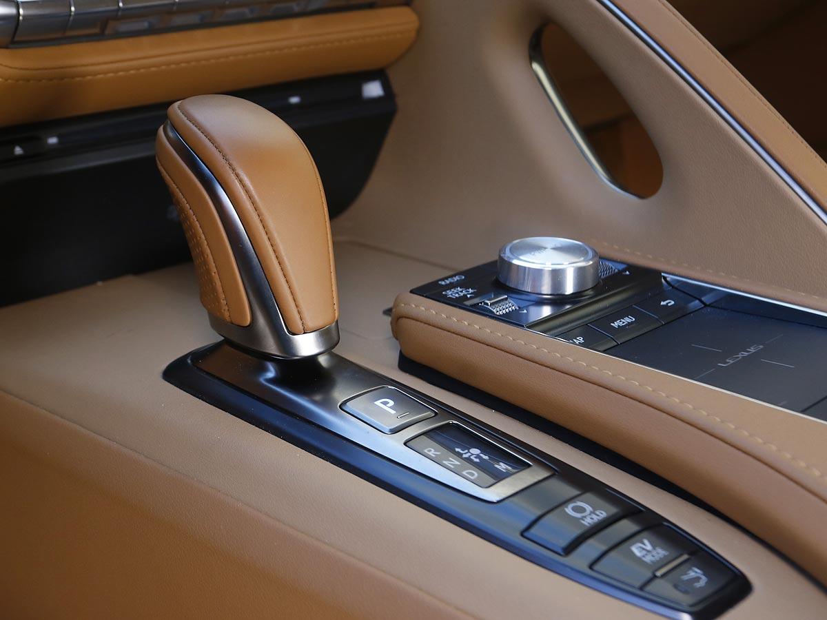cambio Lexus LC 500h