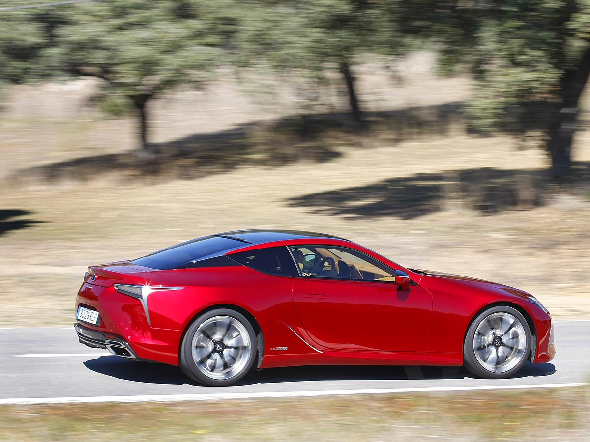 barrido Lexus LC 500h
