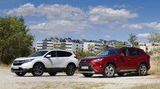 Comparativa Honda CR-V vs Toyota RAV4 2019