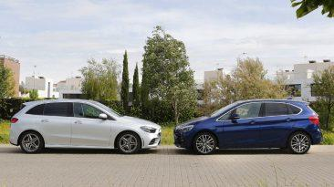 Comparativa Mercedes-Benz B 180 vs BMW 218i Active Tourer