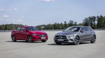 Mercedes-Benz Clase A y Clase B Híbridos enchufables