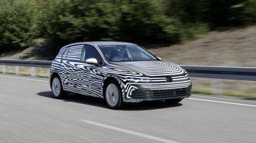 Pruebas desarrollo Volkswagen Golf 2019