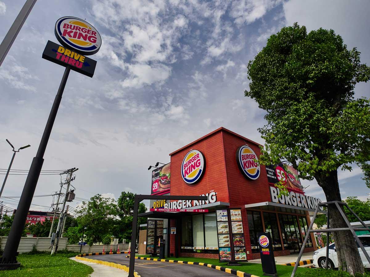 drive-thru Burger King