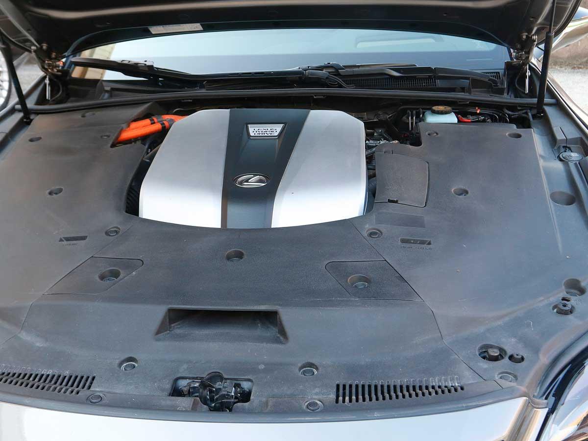 lexus ls 500 h motor híbrido