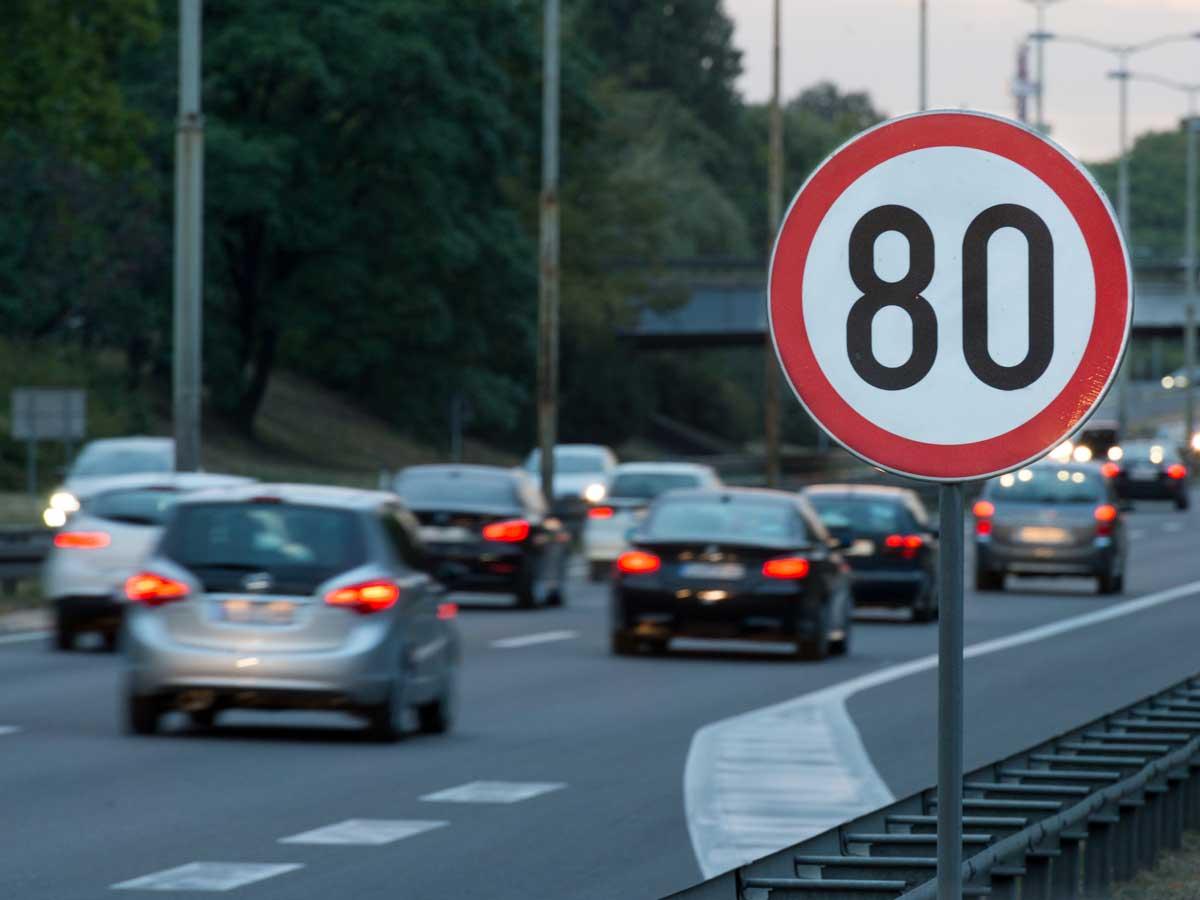 alerta exceso de velocidad
