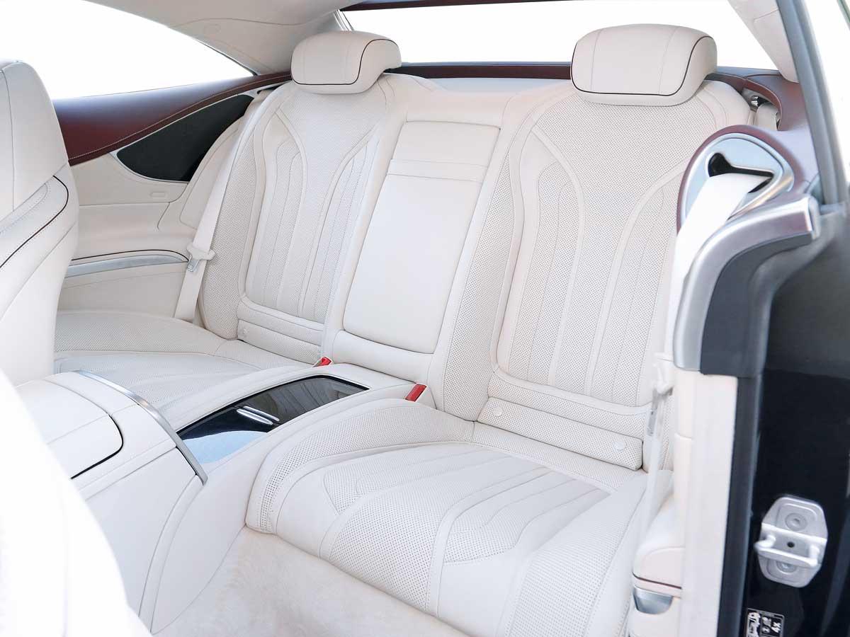 mercedes-benz s 560 coupé plazas traseras