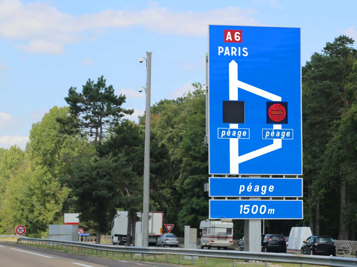 peaje autovías Francia