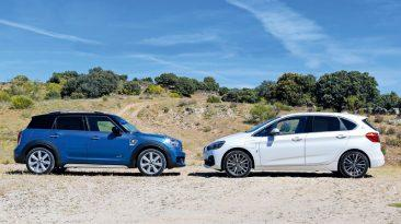 Comparativa BMW 225xe iPerformance Active Tourer vs MINI S E Countryman All4 2019