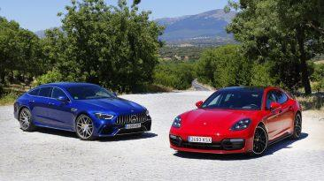 Comparativa Mercedes-AMG GT 63 S 4matic+ Competition vs Porsche Panamera 2019