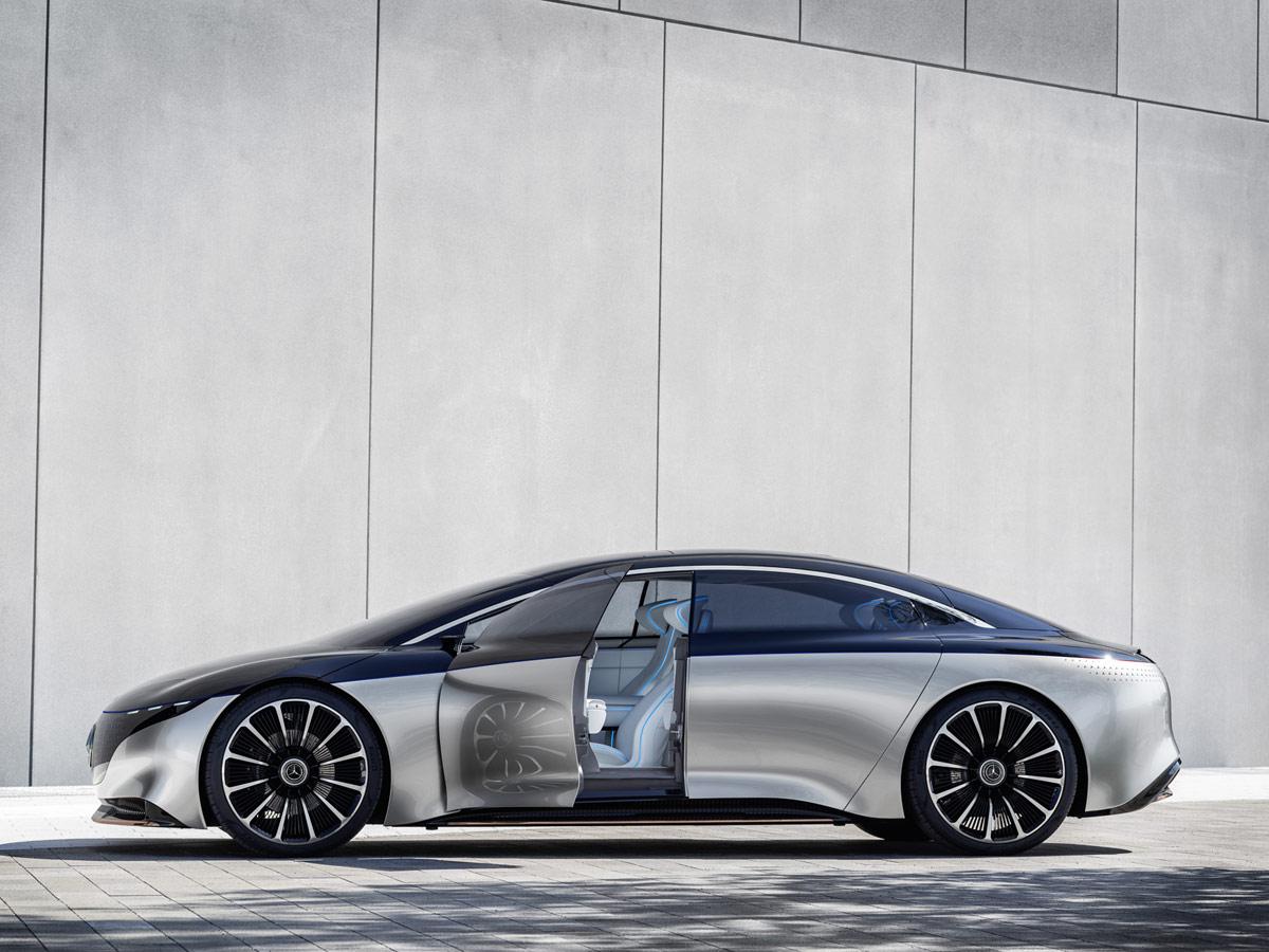 Mercedes-Benz Vision EQS 2019