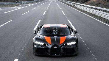 récord de velocidad Bugatti