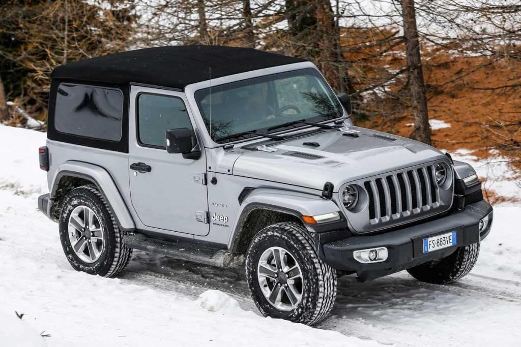 Jeep Wrangler híbrido enchufable en 2020