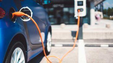 puntos de carga eléctricos