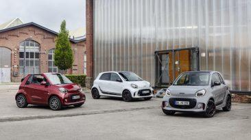 smart fortwo y smart forfour 2019
