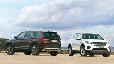 Comparativa Land Rover Discovery Sport vs. Škoda Kodiaq Scout 2019